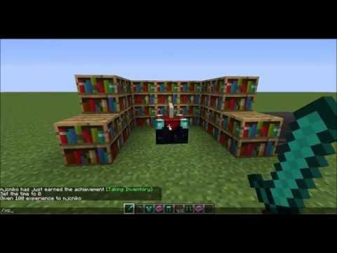 Minecraft Tutorials: Episode 1 Enchanting and Repairing (1.7.9)