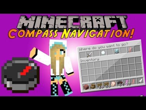 Minecraft Plugin Tutorial - Compass Navigation - Custom GUI Teleporting