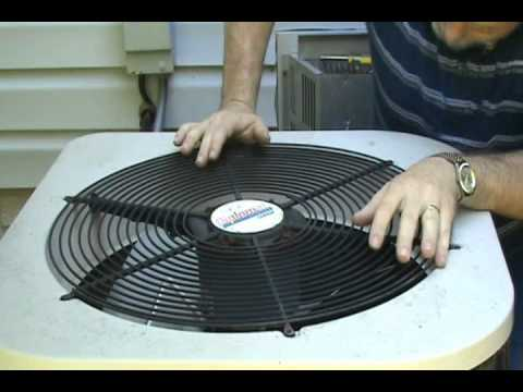 air conditioner fan replacement.wmv