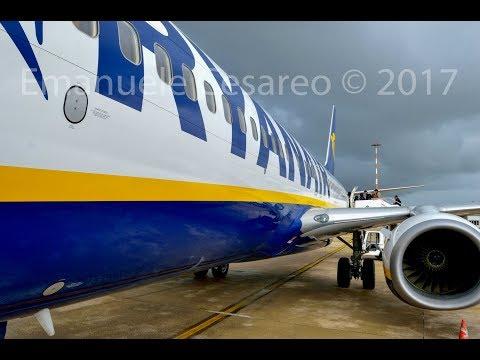 Trip report   Ryanair B737-800  Rome/Fiumicino (FCO) to Barcelona El Prat (BCN)   New Sky Interior
