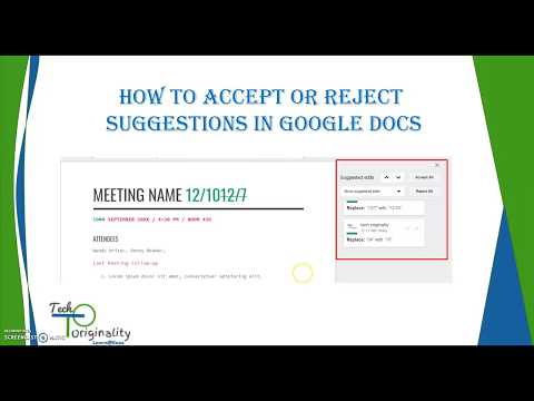 How to Accept All/Reject All Suggestions at once in Google Docs