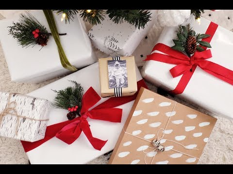 3 Easy, Beautiful Wrapping Paper Ideas!