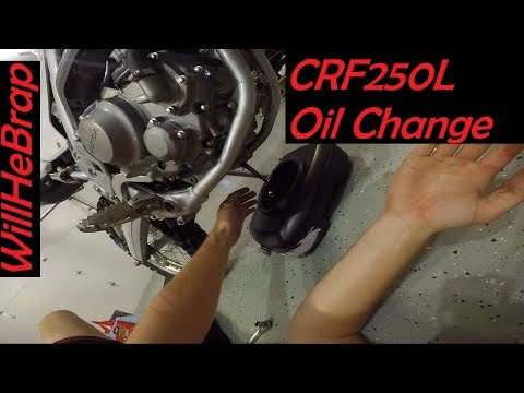 Honda CRF250L: Oil Change