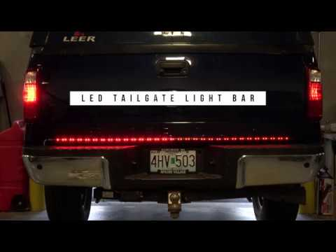 LED Tailgate Light Bar