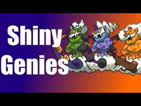 Shiny Tornadus, Thundurus and Landorus Incarnate Giveaway - Pokemon Black and White 2