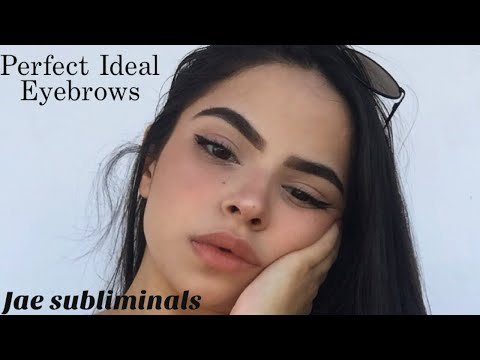 Get perfect eyebrows || Subliminal