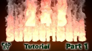 Redshift / TurbulenceFD / AOV Volume / Explosion / C4D