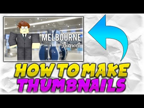 How To Make Roblox Thumbnails Using Paint.Net (GFX)