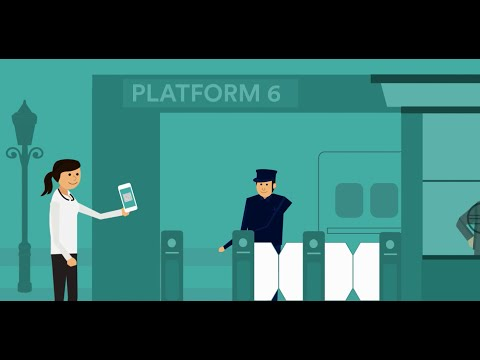 Mobile tickets with Trainline