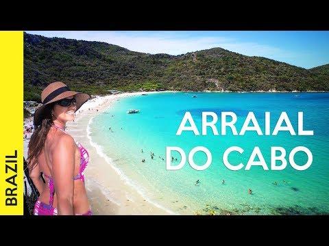 Road trip from Rio de Janeiro: ARRAIAL DO CABO + New Year's in BRAZIL 2018