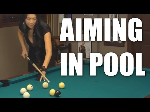 Aiming in Billiards and Pool with Jeanette Lee the