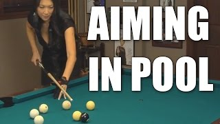 Download Aiming in Billiards and Pool with Jeanette Lee the ″Black Widow″ Video
