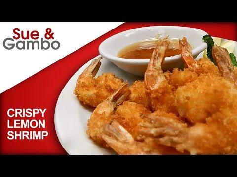 Crispy Lemon Shrimp - Panko Breaded Shrimp with Lemon Sauce