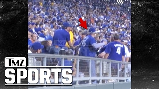 KC Royals Fan Punches Woman After She Allegedly Hits and Spits On Him | TMZ Sports