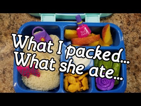 School Lunch FAIL! What did she eat.....