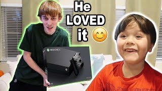 Gave away our BRAND NEW Xbox to a FAN!!
