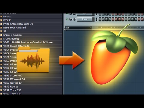 How To Add Your Downloaded Zip Sound Packs, Drum Kits To FL Studio 12