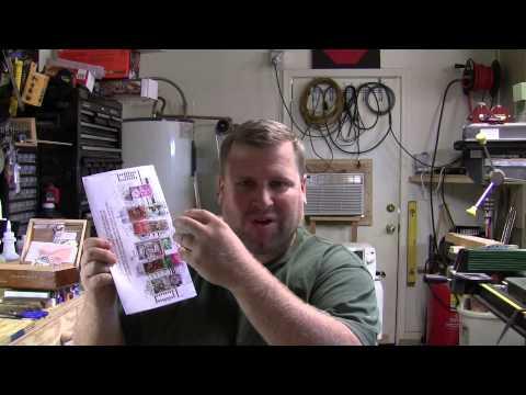 Pen Making Shop Test    Polyester Resin PR vs Alumilite on a stamp pen.