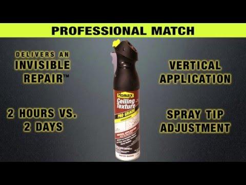 Homax Pro Grade Knockdown Ceiling Texture