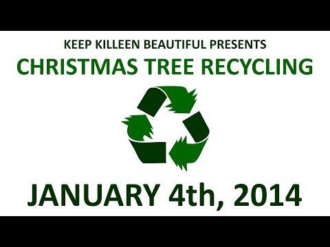 Christmas Tree Recycling 2014