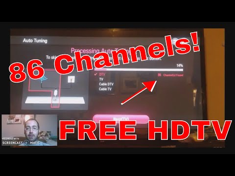 2017 Outdoor HD TV Antenna 86 Channels! I'll Show You How!
