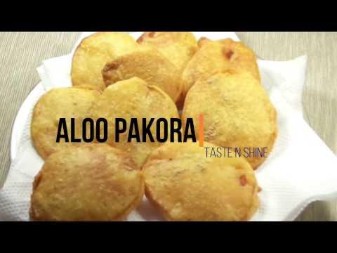 Aloo Pakora Recipe | Potato Fritters | Potato Bhajji | Easy snack recipe