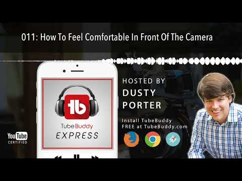 How To Feel Comfortable In Front Of The Camera