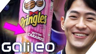 Süße Pringles, Chips oder doch eher Keks? - Snacks aus Süd-Korea & Brasilien | Galileo