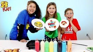 GUESS THE MYSTERY PANCAKE ART WIN $10000   SuperHero Kids Challenge
