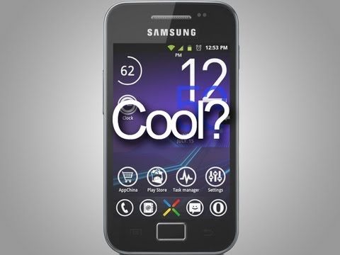 Cool Samsung Galaxy Ace huh?