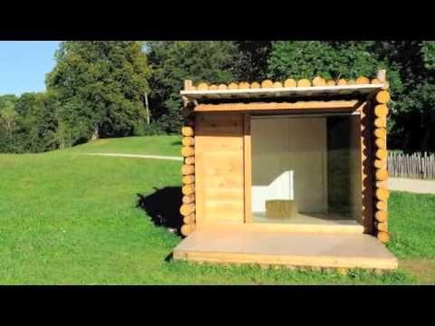 Woodsy Off-Grid YETA Eco Hut in Italy
