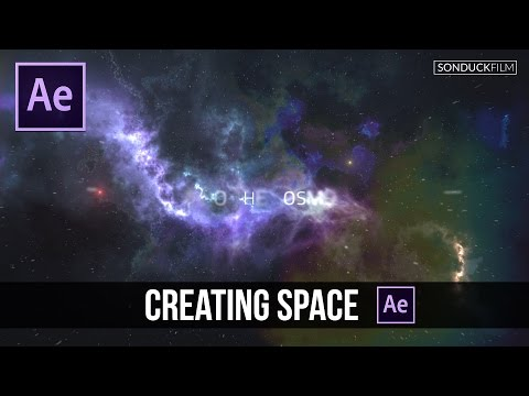 After Effects Tutorial: Creating a Space Intro or Scene