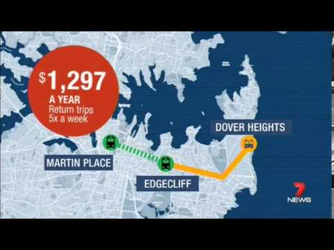 Seven News Sydney - CBD Bus route changes (17/7/2015)