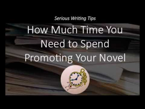 How Much Time You Need to Spend Promoting Your Novel
