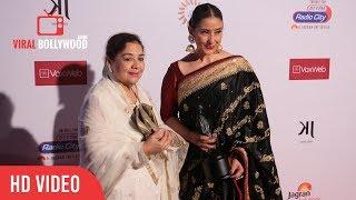 Manisha Koirala Meets Veteran Actress Farida Jalal   Dadasaheb Phalke Award 2018