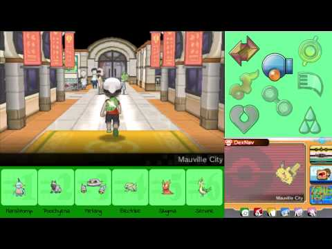 Lets Play: Pokemon Omega Ruby - Part 7: Abra with HP Fighting???