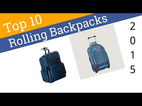 10 Best Rolling Backpacks 2015