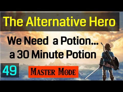Master Mode Breath of the  Wild - We Need to Make a 30 Minute Potion - 049