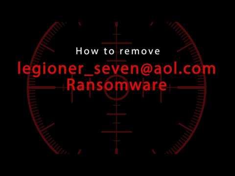 How to remove Legioner_seven@aol.com Ransomware