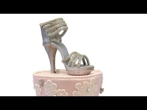 Sweet 16 High Heel Cake