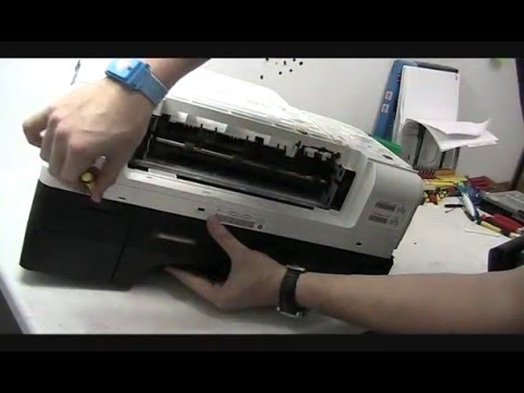 HP Officejet 6500 printer Top Cover Removal