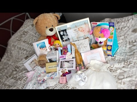 HUGE CHRISTENING GIFT HAUL