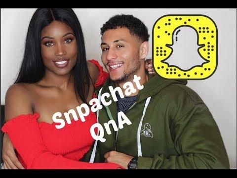 IM PREGNANT? Snapchat QnA 2.0 ft my Boyfriend ❤️
