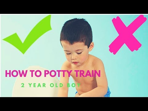 How To Potty Train a 2 Year Old Boy   Proven Method