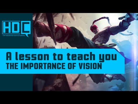 The importance of vision in League of Legends