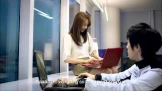 SlayerSBoxeR & Girls Generation -SNSD- on Intel Korean Ad [Starcraft 2]