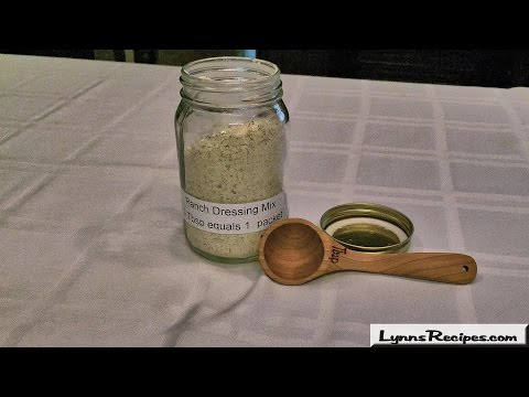 Homemade Ranch Dressing Mix  - Lynn's Recipes
