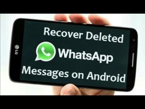 HOW TO CHECK DELETE WHATSAPP MESSAGES