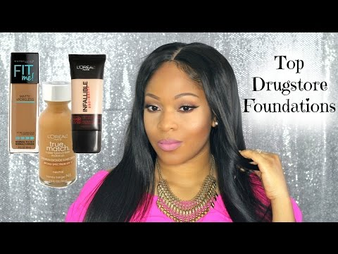 My Top 3 Best Drugstore Foundations For Oily Skin