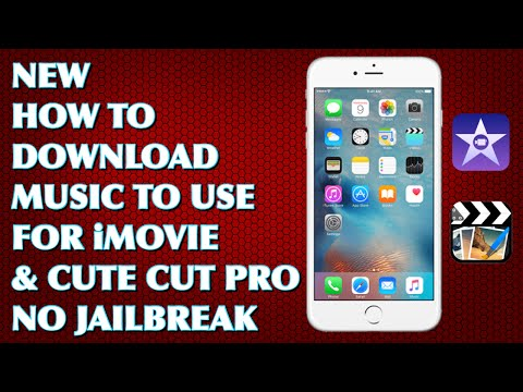 How To Download Any Music Onto iMovie & Cute Cut Pro! (2017)